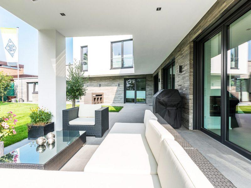 Terrasse Fliesen Naturstein modern groß design bocholt