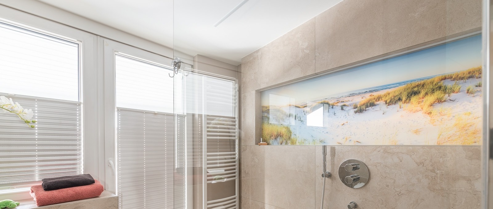 Wandnische Duschbereich